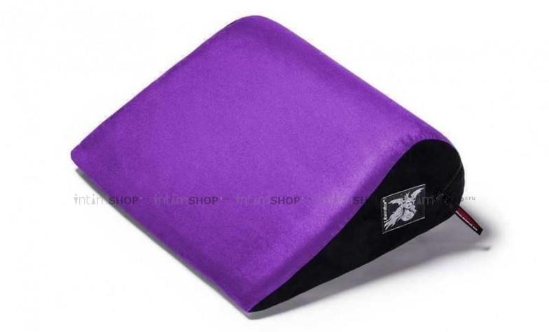 Liberator retail jaz подушка для любви малая, виноградная замша