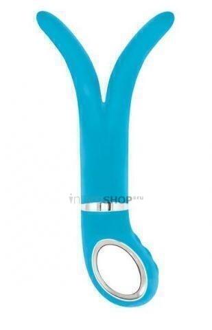 Анатомический вибромассажер Fun Toys Gvibe 2 Голубой
