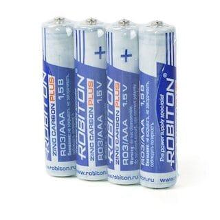 Батарейки Robiton R03 мизинчиковые