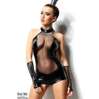 Боди Demoniq Isabelle черный, L/XL