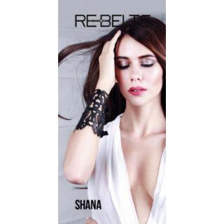 Браслет резной Shana Black