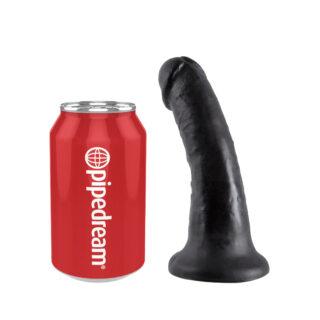 Фаллоимитатор PipeDream King Cock на присоске, черный