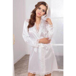 Халатик Mia-Mia Lady in white, белый XS/S