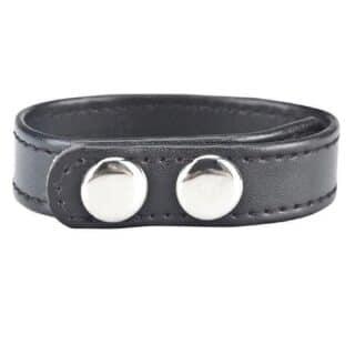 Кольцо на Пенис на клепках Snap Cock Ring, 4-6 см