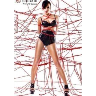 Комплект с высокими шортами Shibari Shinju с веревками для связывания, M