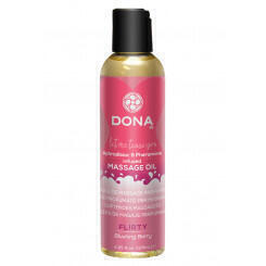 Массажное масло DONA Scented Massage Oil Flirty Aroma: Blushing Berry 125 мл