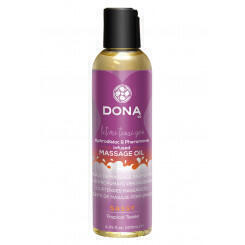 Массажное масло DONA Scented Massage Oil Sassy Aroma: Tropical Tease 125 мл