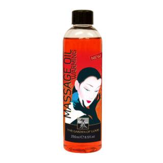 Массажное масло SHIATSU MASSAGEOIL Согревающее 250 мл