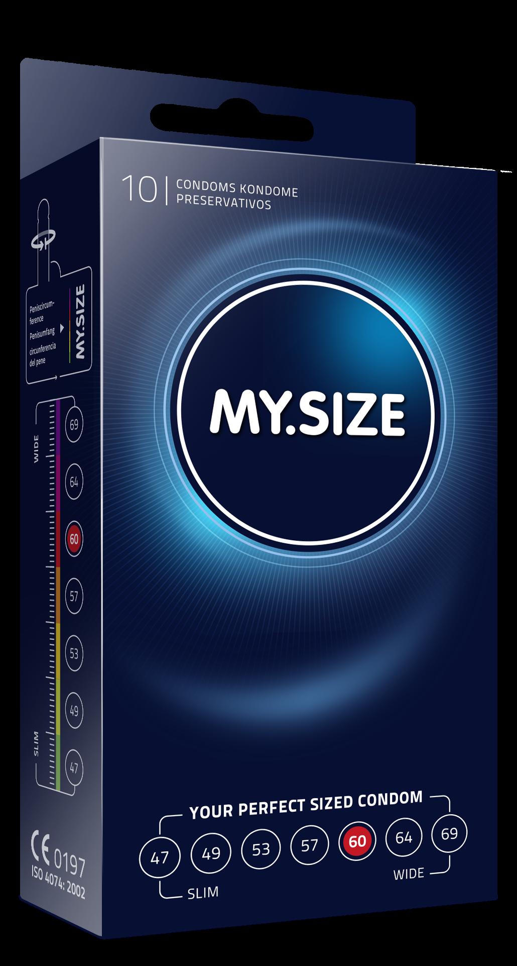 Презервативы MY.SIZE размер 60, 10 шт.