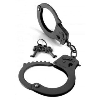 Наручники металлические Designer Cuffs (черные)
