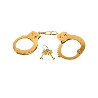 Наручники Металлические Gold Metal Cuffs