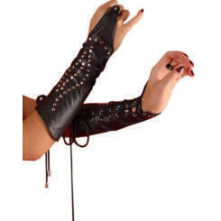 Нарукавники на шнуровке