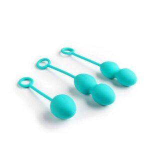 Вагинальные шарики с переменным центром тяжести Nova Balls Blue