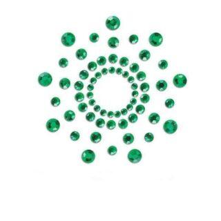 Пестисы Bijoux Indiscrets - Mimi Esmerald, зеленый
