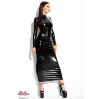 Платье Demoniq Dorothea черный, S/M