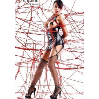 Платье с открытой грудью Shibari Yuriko с веревками для связывания, L