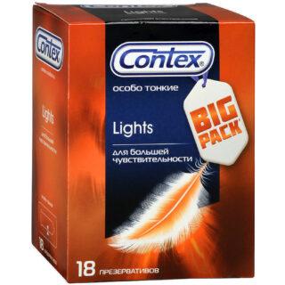 Презервативы CONTEX Lights особо тонкие 18 шт