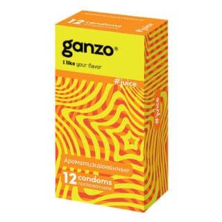 Презервативы Ganzo Juice №12 ароматизированные