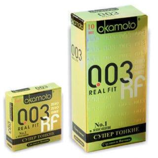 Презервативы OKAMOTO Real Fit №10