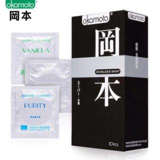 Презервативы Okamoto Skinless Skin Super 10 шт