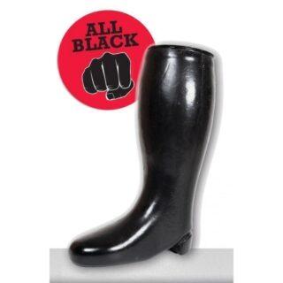 Сапог литой для фистинга Boot All black O-Products черный