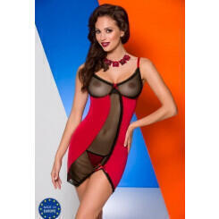 Сорочка Avanua Lovia красная, S/M