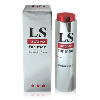 Возбуждающий спрей для мужчин LOVESPRAY ACTIVE 18 мл.