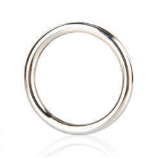 Стальное Эрекционное Кольцо Blue Line, 4,5 см