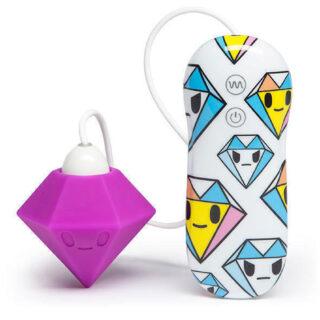 Tokidoki вибратор клиторальный Purple Diamond