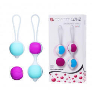 Вагинальные шарики Pretty Love Orgasmic Ball для тренировок премиум класса