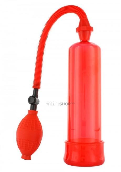 Вакуумная Помпа Penis Enlarger Pump красная - 19 см