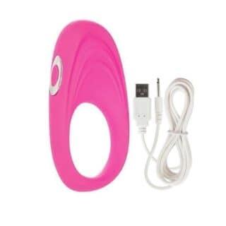 Виброкольцо Embrace pleasure rings розовое