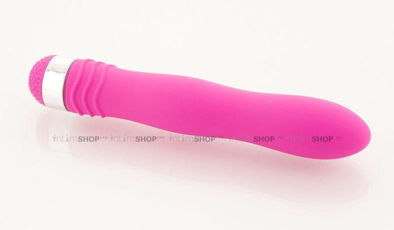 Вибромассажер Водонепроницаемый Sexus Funny Five фиолетовый - 18 см