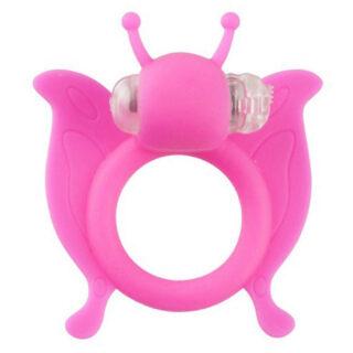 Вибронасадка Beasty Toys Butterfly, розовая