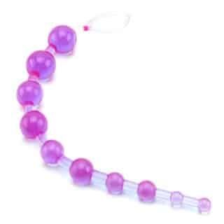 Бусы анальные California Exotic Novelties X 10 Beads, фиолетовые